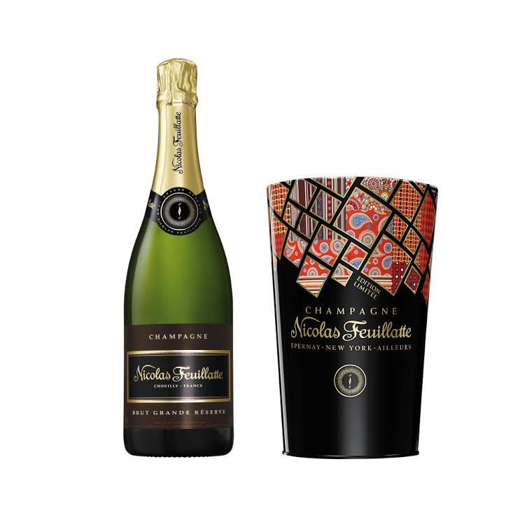 nicolas feuillatte champagne perfect for seeing in the coming festivities melanie 39 s fab finds. Black Bedroom Furniture Sets. Home Design Ideas
