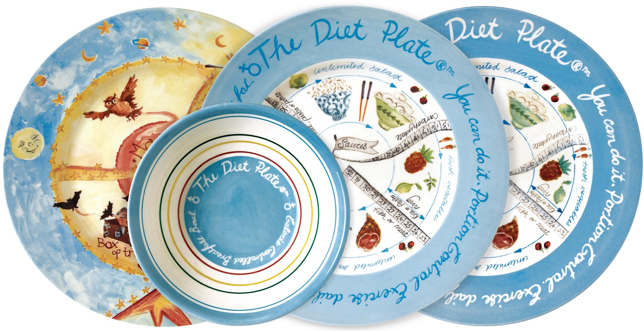 Discover portion control and lose weight with The Diet Plate