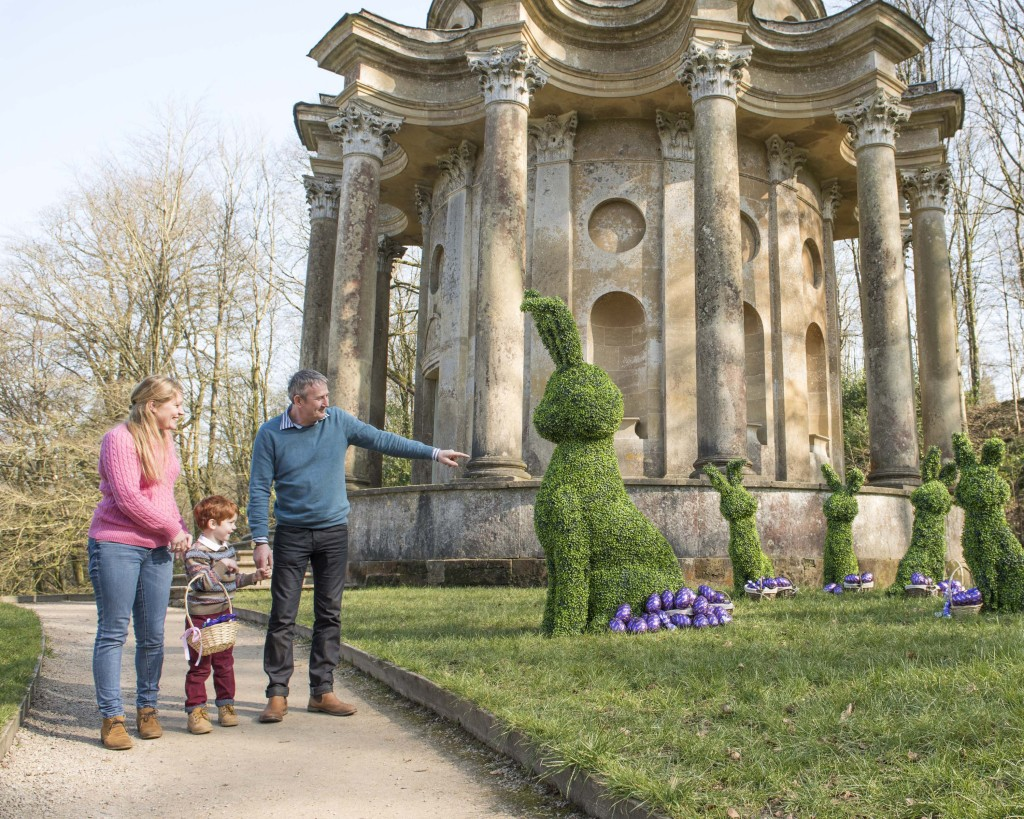 National Trust unveils show-stopping giant topiary Easter Bunny