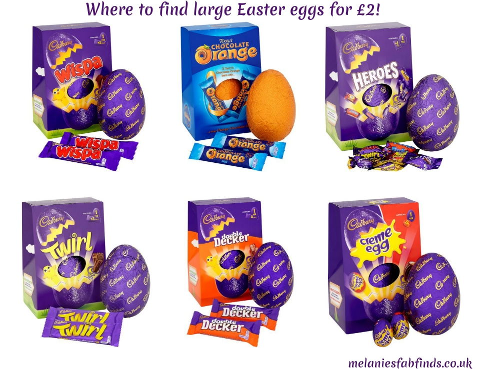 Large Easter Eggs For 2 Bargain Melanies Fab Finds